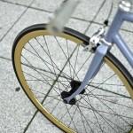 Fahrrad mit 35mm Festbrennweite
