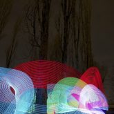 Pixelcatching: Lightpainting 2