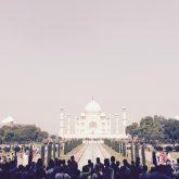 Taj Mahal mit iPhone