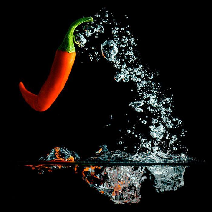 Highspeed Fotografie | Splash Chili 11