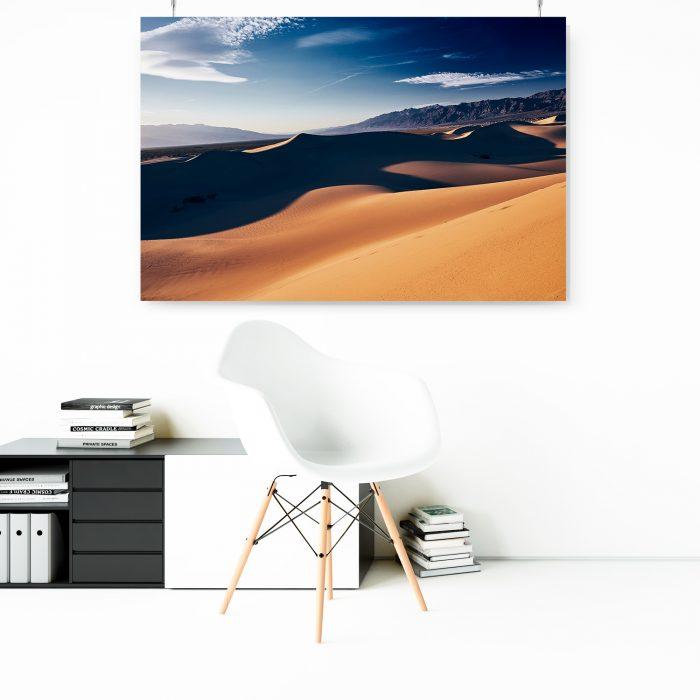 Wandbild Death Valley Dunes 1