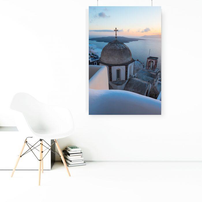 Wandbild: Santorini Thira 1