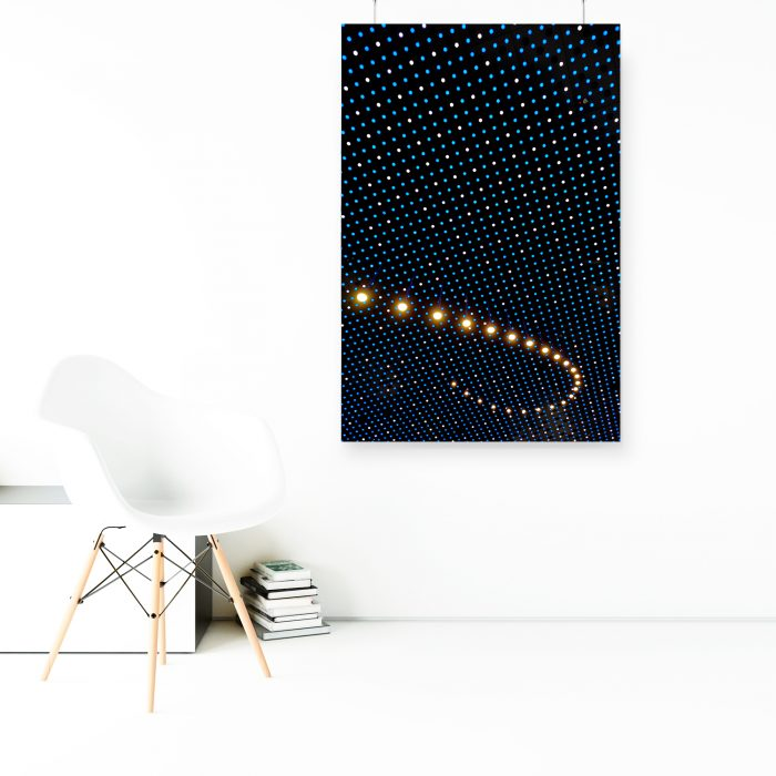 Wandbild: Lampen 1