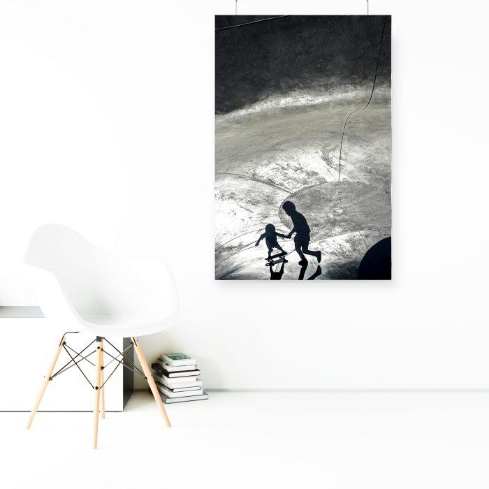 Wandbild: Schattenmenschen 1
