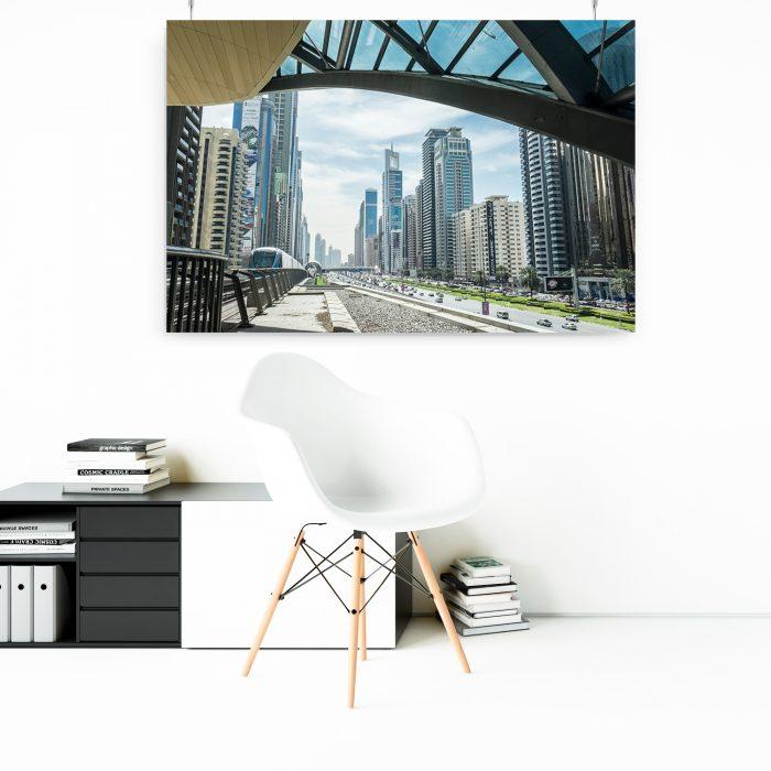 Wandbild: Skyline Dubai 1