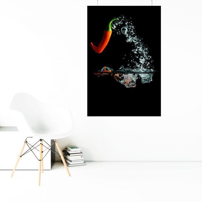 Wandbild: Springchili 1