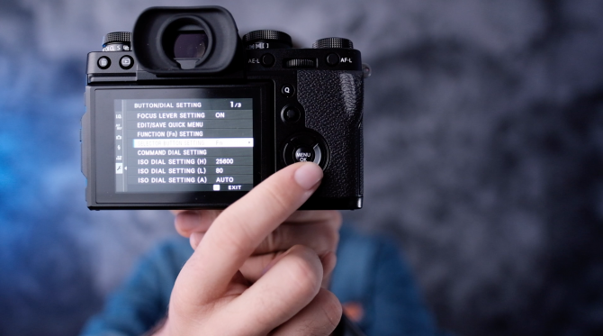 Fujifilm X-T3 Settings