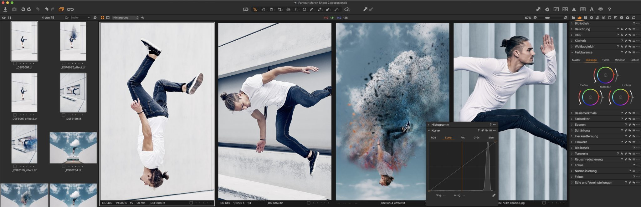 Capture One Pro 12 Kurs