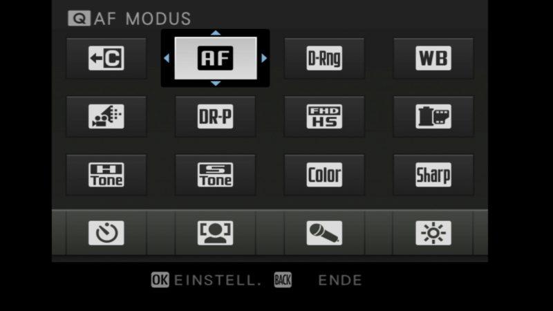 Videotraining Fujifilm X-H1 Einstellungen 1
