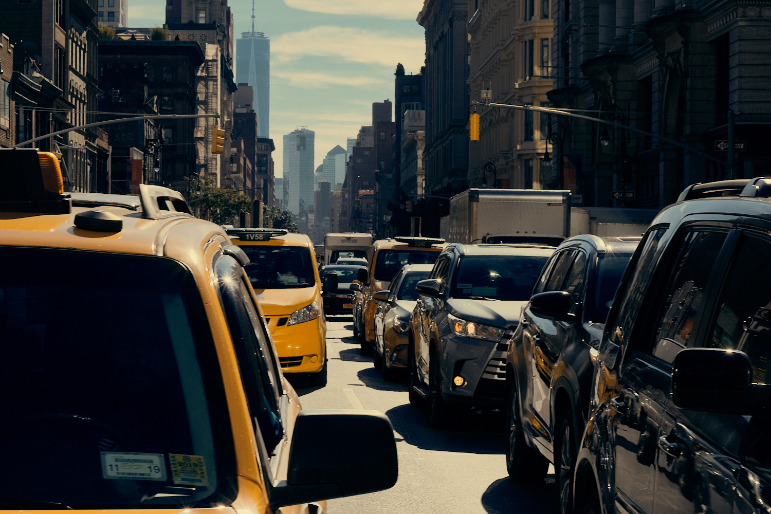 New York Styles Capture One Yellow Taxis