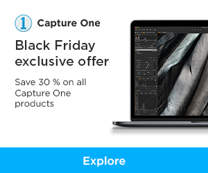 Capture One Pro Black Friday offers 2019 save 30%! 2
