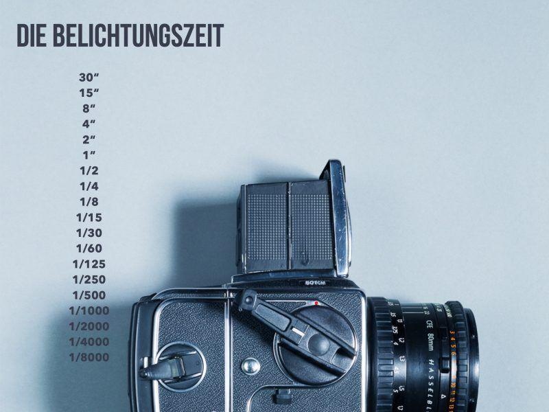 einfach fotografieren lernen belichtungszeit