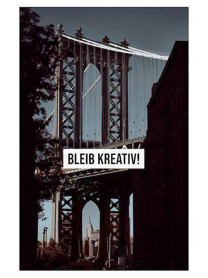 bleib kreativ